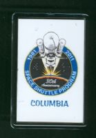 30 Years of the Space Shuttle Program 1981-2011 Columbia Fridge Magnet